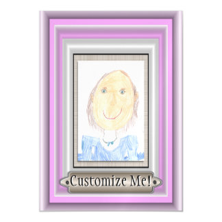 Show Off Your Kid's Art or Photo Magnetic Card