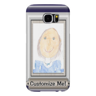 Show Off Your Kid's Art or Photo Samsung Galaxy S6 Cases