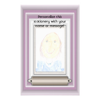 Show Off Your Kid's Art or Photo Stationery