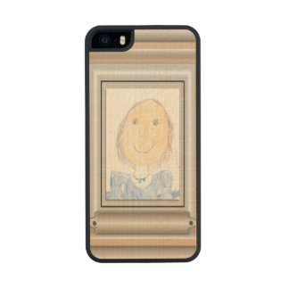 Show Off Your Kid's Art or Photo Wood Phone Case For iPhone SE/5/5s