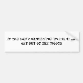 Show Off your Paintball Pride Car Bumper Sticker