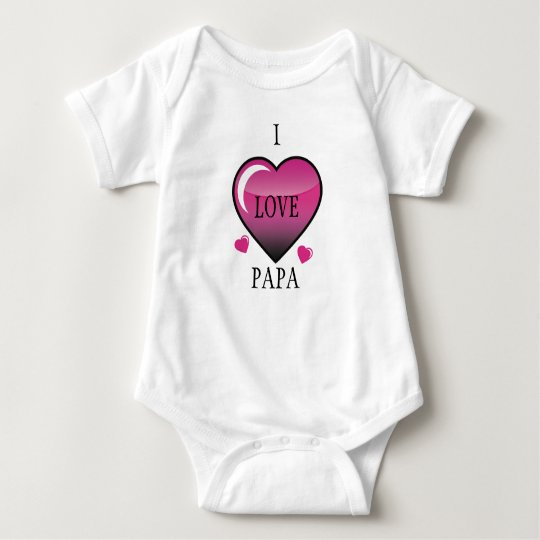 Show Papa the Love Baby Bodysuit