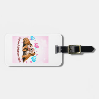 Show Puppy Love for Nurses Luggage Tag