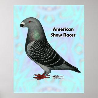 Show Racer ASR Poster