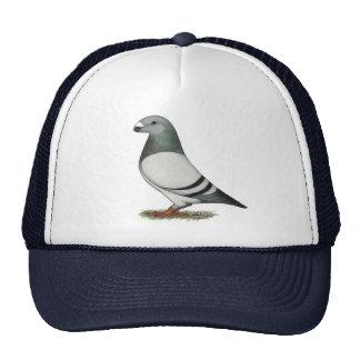 Show Racer Blue Bar Pigeon Trucker Hat