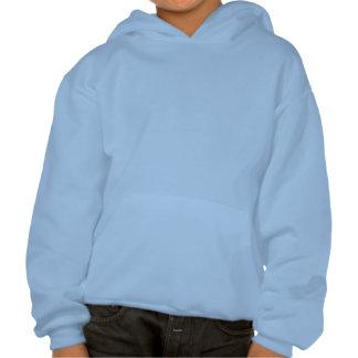 Show Racer Blue Checker Pigeon Hooded Sweatshirt