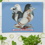 Show Racers Eight Kitchen Towel