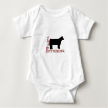 Show Steer Baby Bodysuit