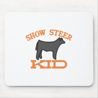 Show Steer Kid Mouse Pad