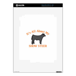 Show Steer Decals For The iPad 2