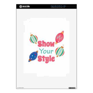 Show Style iPad 2 Skins