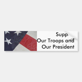Show support for our nation & the fight on terror bumper stickers