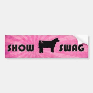Show Swag Bumper Sticker