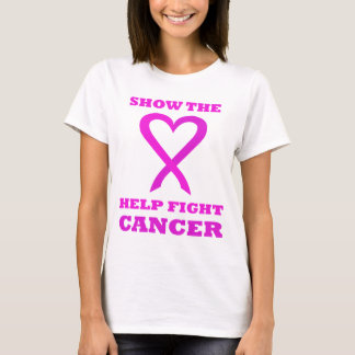Show the LOVE Help Fight Cancer PK01 T-Shirt