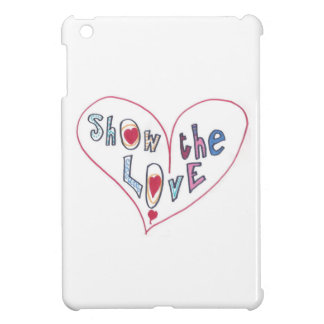 Show the Love iPad Mini Cover