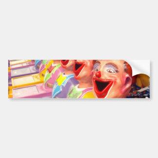 Show_Time,_Clowns,_ Bumper Sticker
