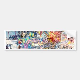 Show_Time,_Decoupage,_ Bumper Sticker