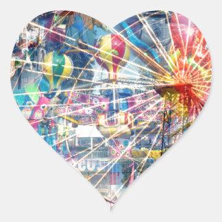 Show_Time,_Decoupage,_ Heart Sticker