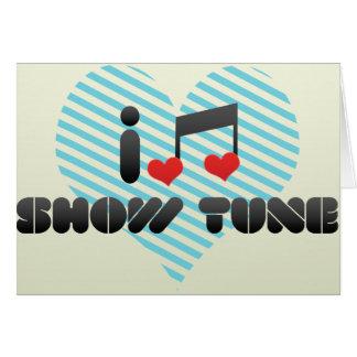 Show Tune Card