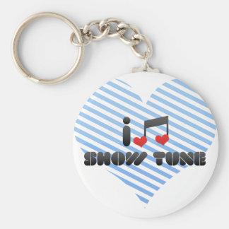Show Tune Keychain