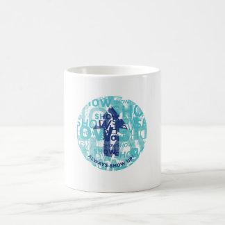 'Show Up' White 11 oz Classic Mug