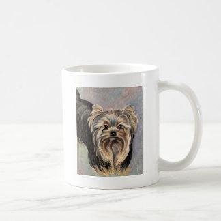 Show Yorkie Abby Coffee Mugs