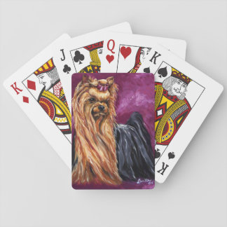Show Yorky Playing Cards
