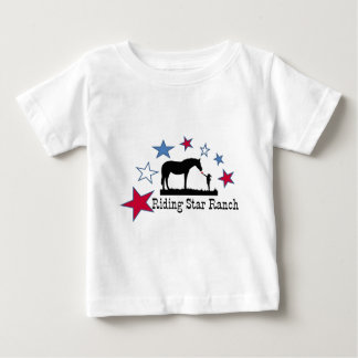 Show you support with the Riding Star Ranch Logo Baby T-Shirt
