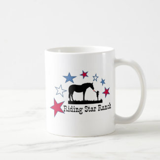 Show you support with the Riding Star Ranch Logo Coffee Mug