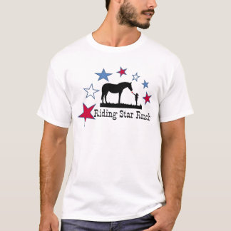 Show you support with the Riding Star Ranch Logo T-Shirt