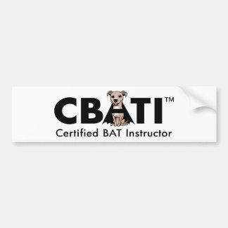 Show your CBATI Pride! Bumper Sticker