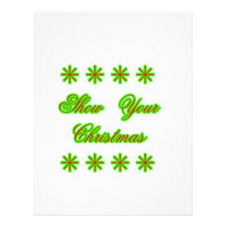 Show Your Christmas jGibney The MUSEUM Zazzle Gift Letterhead