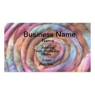 Show Your Colors Fiber Business Card