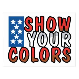 Show Your Colors Postcard