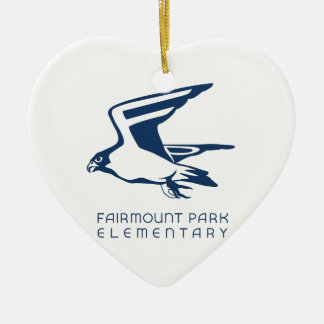 Show your Fairmount Park Elementary Spirit! Ceramic Ornament