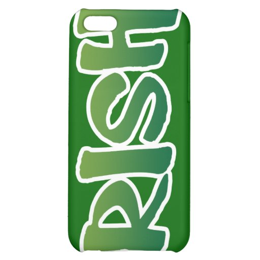 Show your IRISH colors iPhone 5C Cover