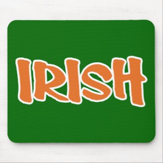 Show your IRISH colors Mouse Pad