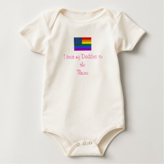Show Your Little Princess Off Baby Bodysuit