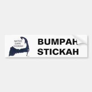 Show your love for Cape Cod with humor Bumper Sticker