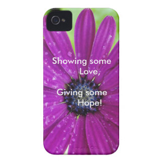 Show your Love & Give Hope Phone Case iPhone 4 Case-Mate Case