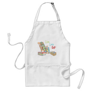 Show your love of quilti adult apron