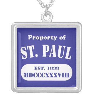 Show Your Minnesota Pride! Silver Plated Necklace