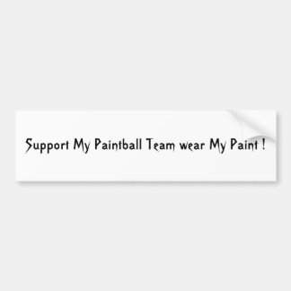Show your Paintball Pride Bumper Stickers