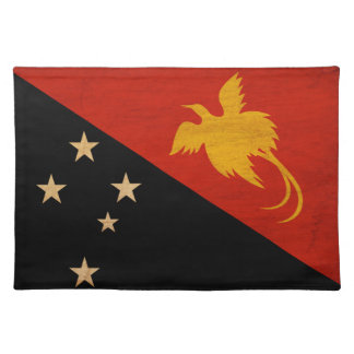 Show your Papua new Guinea Pride! Cloth Placemat