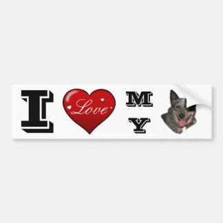 Show your pride bumper sticker