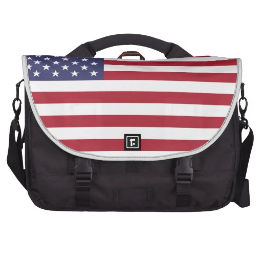 Show your pride in the United States! Laptop Commuter Bag