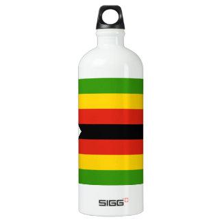 Show your pride in Zimbabwe! Aluminum Water Bottle