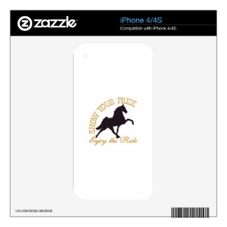 Show Your Pride Skin For The iPhone 4
