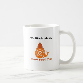 Show your Slow Food DC Pride! Coffee Mug