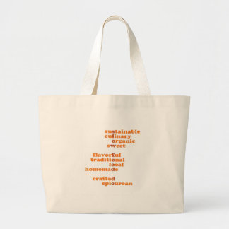 Show your Slow Food DC Pride! Large Tote Bag